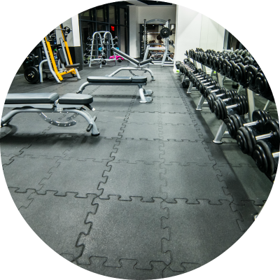 Maty do sal fitness i siłowni