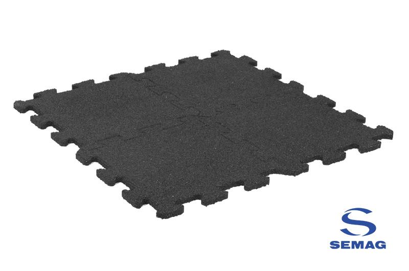Płyta Semag fitness puzzel czarny