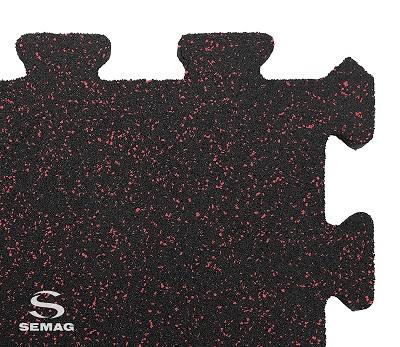 Płyta Semag fitness puzzel mix róż
