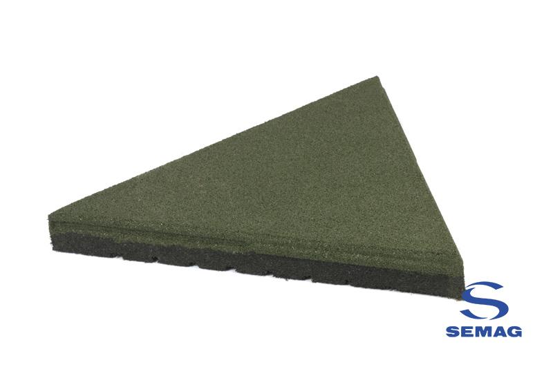 Płyta Semag taras trójkąt zielony