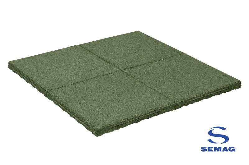 płyta prostokątna Semag T 100x100 SBR zielony