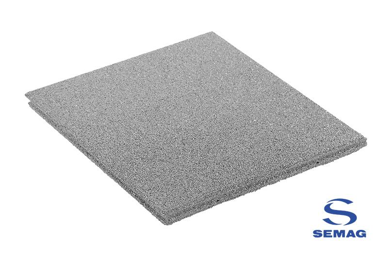 płyta prostokątna Semag T 100x100 szary